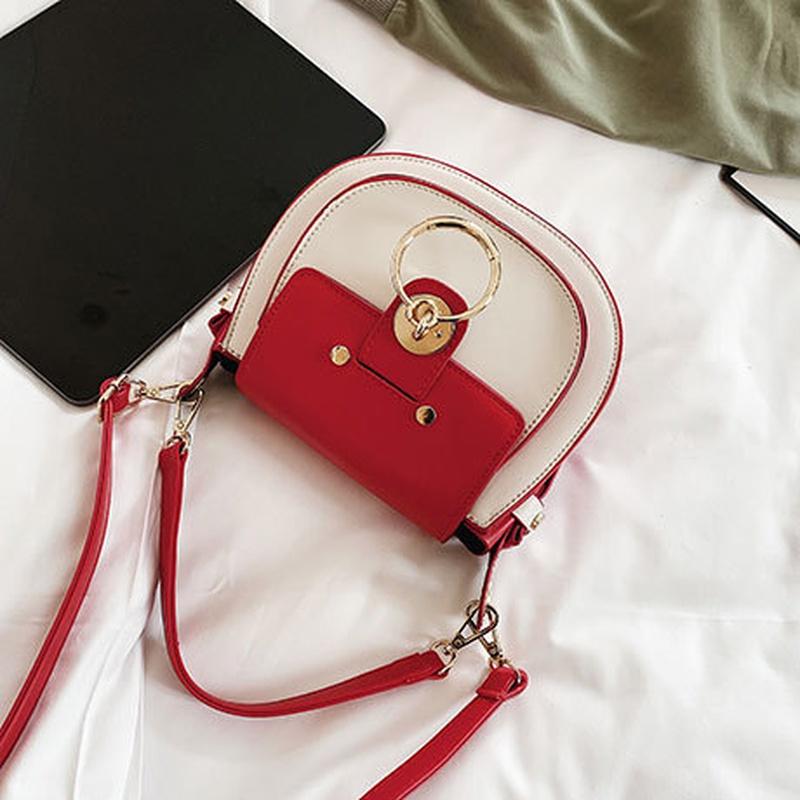 PU Korea  Shoulder Bags  (white)   NHTC3400-white