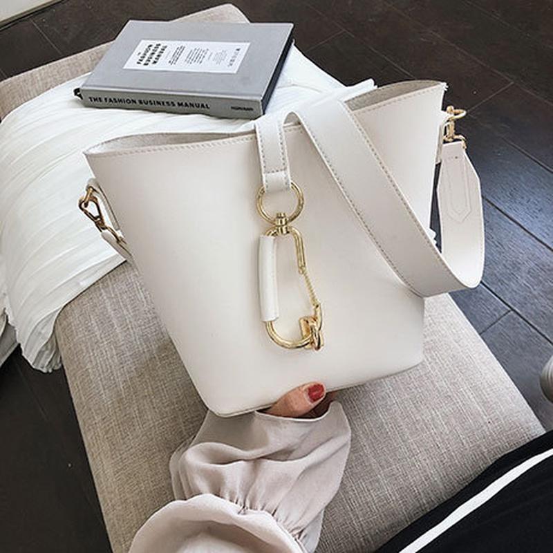 PU Korea  Shoulder Bags  (white)   NHTC3418-white