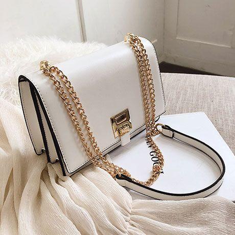 PU Korea  Shoulder Bags  (white)   NHTC3419-white's discount tags