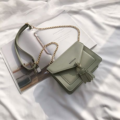 PU Korea  Shoulder Bags  (green)   NHTC3449-green