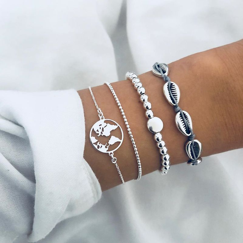Alloy Fashion Geometric bracelet  (Alloy GAH0104)  Fashion Jewelry NHPJ0382-Alloy-GAH0104