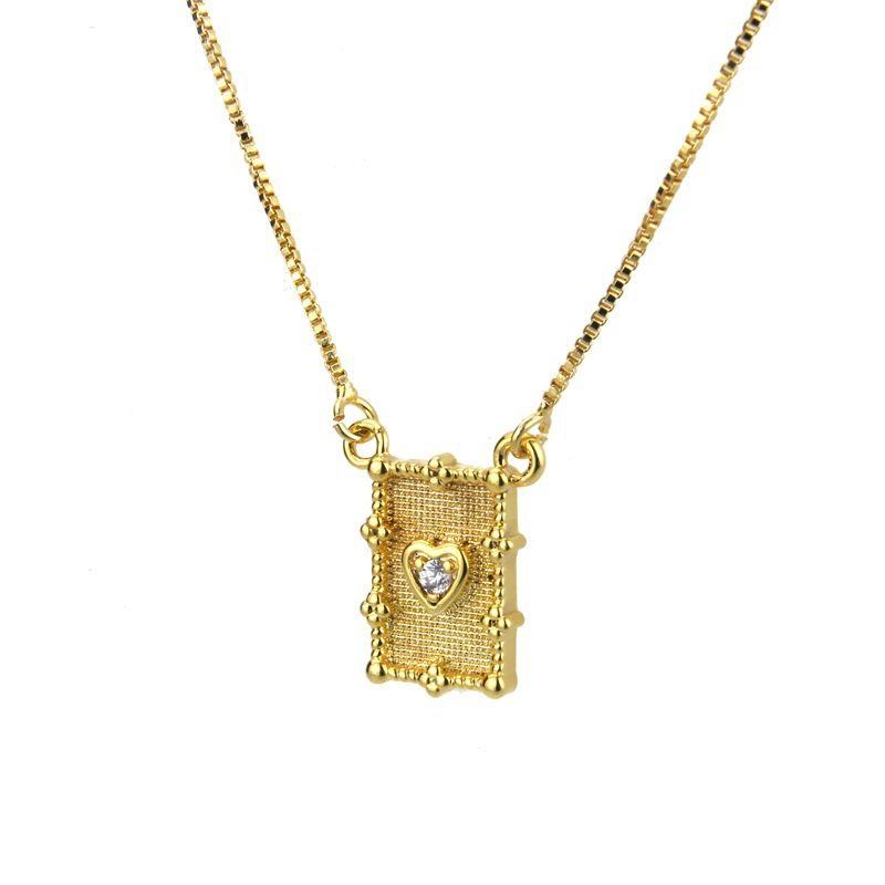 Copper Fashion Geometric necklace  Alloy plating  Fine Jewelry NHBP0431Alloyplating