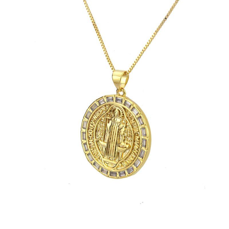 Copper Fashion Geometric necklace  Alloy plating  Fine Jewelry NHBP0432Alloyplating