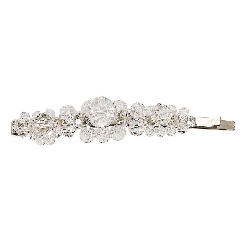 Imitated crystalCZ Fashion Geometric Hair accessories  white  Fashion Jewelry NHJQ11371white