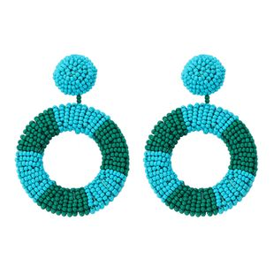 Plastic Fashion bolso cesta earring  (red)  Fashion Jewelry NHJQ11382-red's discount tags