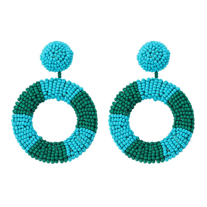 Plastic Fashion bolso cesta earring  (red)  Fashion Jewelry NHJQ11382-red
