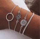 Alloy Fashion Flowers bracelet  Alloy GDJ0101  Fashion Jewelry NHPJ0381AlloyGDJ0101