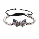 Copper Fashion Bows bracelet  Alloy  Fine Jewelry NHYL0654Alloy