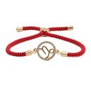 Copper Fashion Geometric bracelet  Aquarius  Fine Jewelry NHYL0659Aquarius