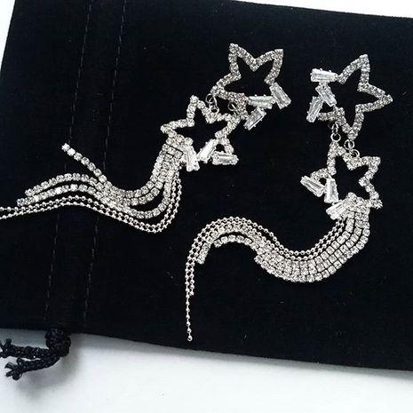 Alloy Korea Tassel earring  (Alloy)  Fashion Jewelry NHYQ0006-Alloy's discount tags