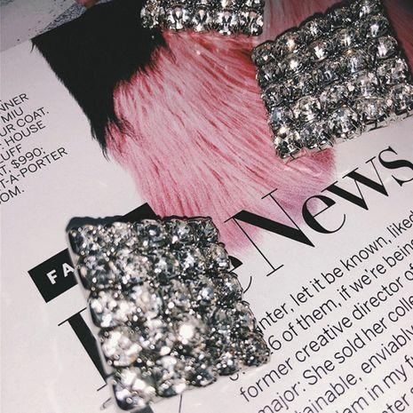 Imitated crystal&CZ Fashion Geometric earring  (Photo Color)  Fashion Jewelry NHYQ0063-Photo-Color's discount tags