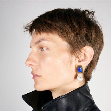 Beads Fashion Geometric earring  (Photo Color)  Fashion Jewelry NHYQ0111-Photo-Color's discount tags