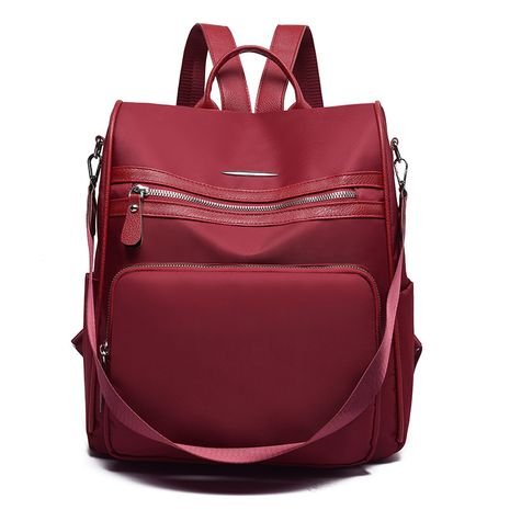 Polyester Fashion  backpack  (red)  Fashion Bags NHXC1057-red's discount tags