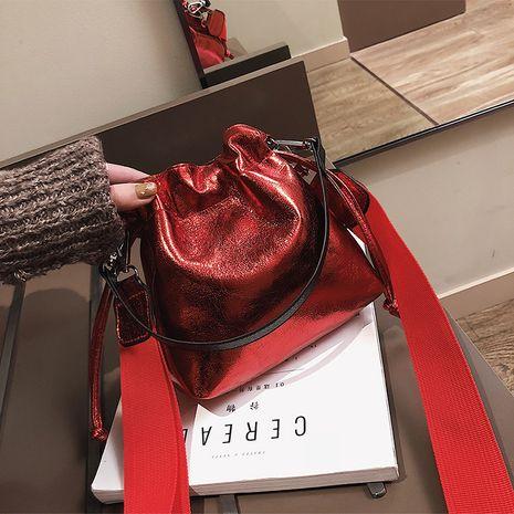 PU Korea  Shoulder bag  (red)  Fashion Bags NHXC1059-red's discount tags