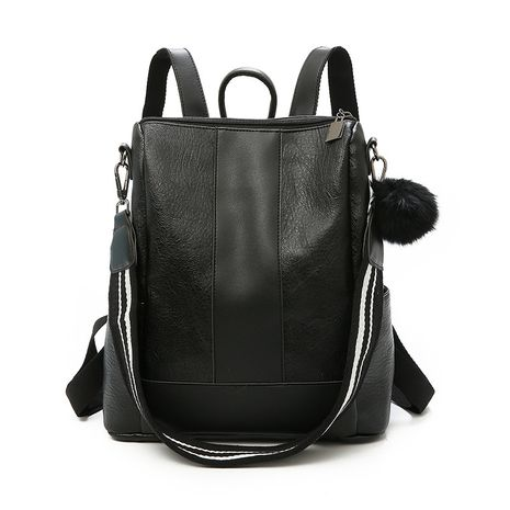 PU Korea  backpack  (black)  Fashion Bags NHXC1079-black's discount tags