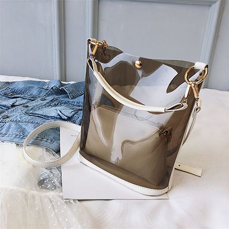 Polyester Korea  Shoulder bag  (white)  Fashion Bags NHTC3299-white's discount tags