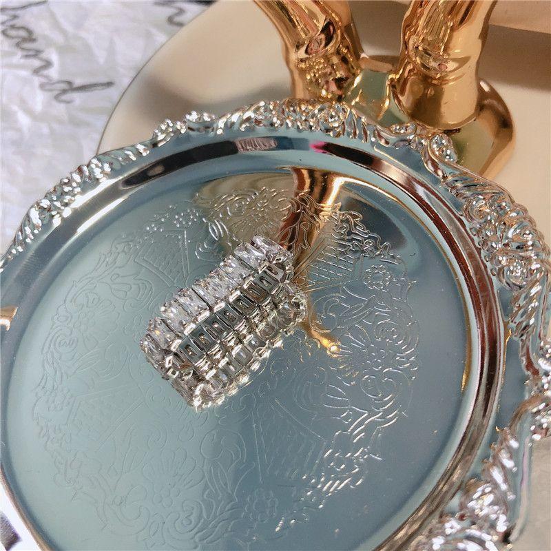 Imitated crystalCZ Fashion Geometric Ring  Zircon ring  Fashion Jewelry NHYQ0368Zirconring