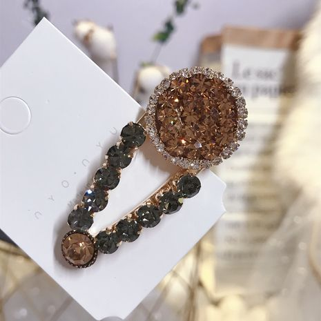 Alloy Korea Geometric Hair accessories  (champagne)  Fashion Jewelry NHSM0423-champagne's discount tags