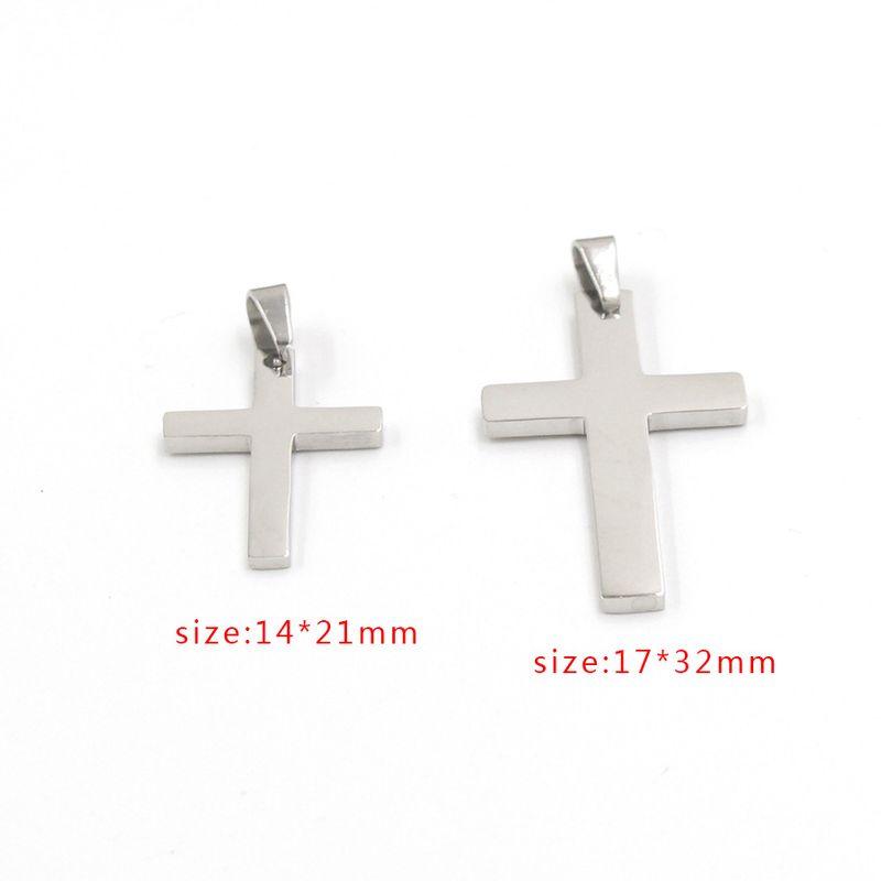 Titanium&Stainless Steel Fashion  jewelry accessory  (Steel color -14*21mm)  Fine Jewelry NHMB0056-Steel-color-14*21mm