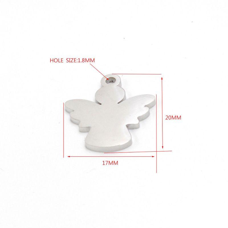 Titanium&Stainless Steel Fashion  jewelry accessory  (Steel color)  Fine Jewelry NHMB0073-Steel-color