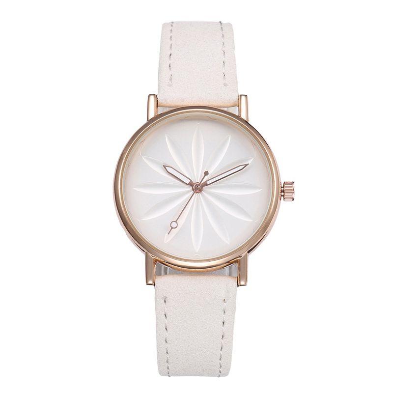 Alloy Fashion  Ladies watch  (white)  Fashion Watches NHHK1337-white