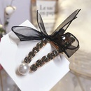 Alloy Simple Bows Hair accessories  black  Fashion Jewelry NHSM0420black