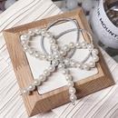 Beads Korea Bows Hair accessories  black  Fashion Jewelry NHSM0428black