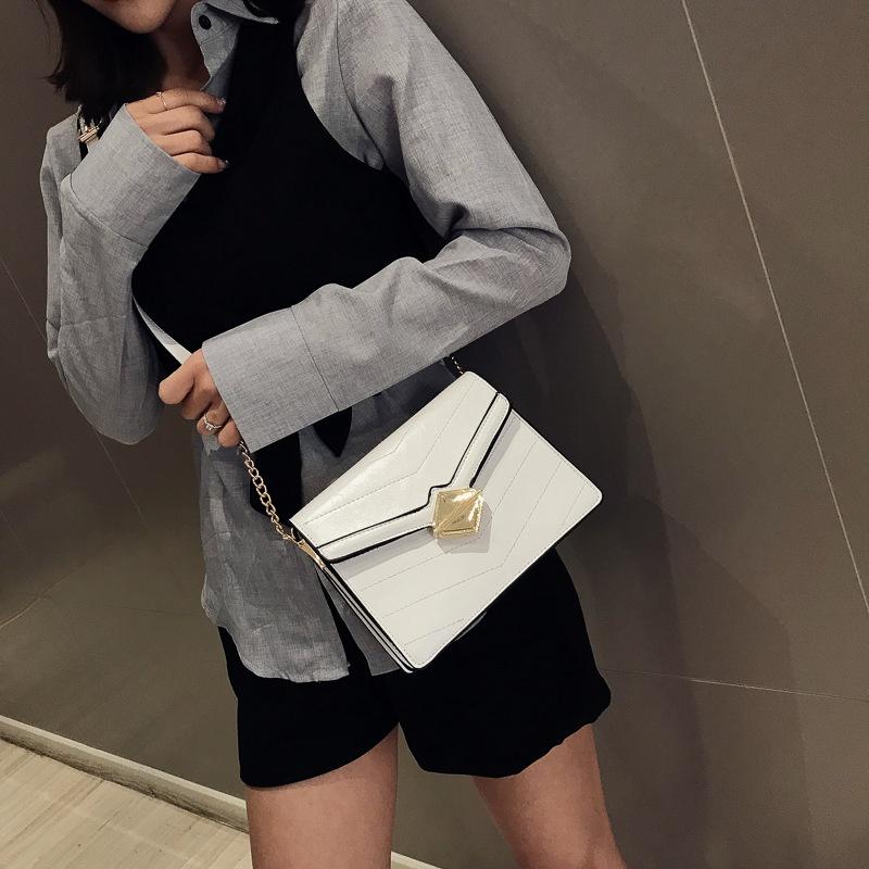 PU Fashion  Shoulder Bags  (white)   NHLD1752-white