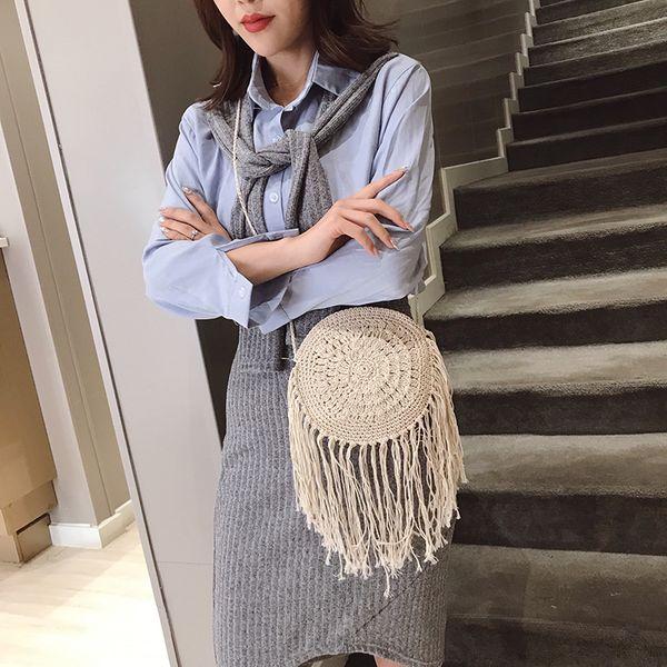 Polyester Fashion  Shoulder Bags  (white)   NHLD1834-white