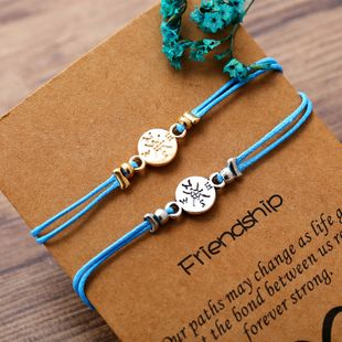 Alloy Fashion Geometric bracelet  (Compass GAG1004)  Fashion Jewelry NHPJ0386-Compass-GAG1004's discount tags