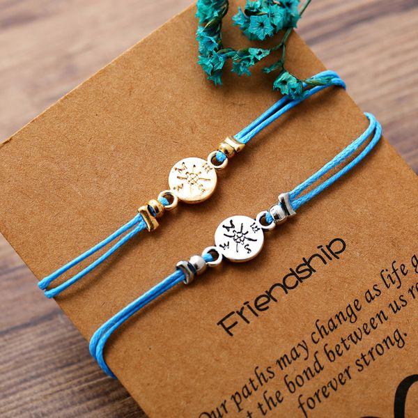 Alloy Fashion Geometric bracelet  (Compass GAG1004)  Fashion Jewelry NHPJ0386-Compass-GAG1004