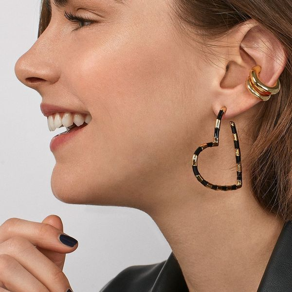 Alloy Fashion Geometric earring  (Photo Color)  Fashion Jewelry NHLU0650-Photo-Color