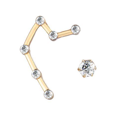 Alloy Punk Geometric earring  (GFA02-01 Aquarius)  Fashion Jewelry NHPJ0401-GFA02-01-Aquarius's discount tags