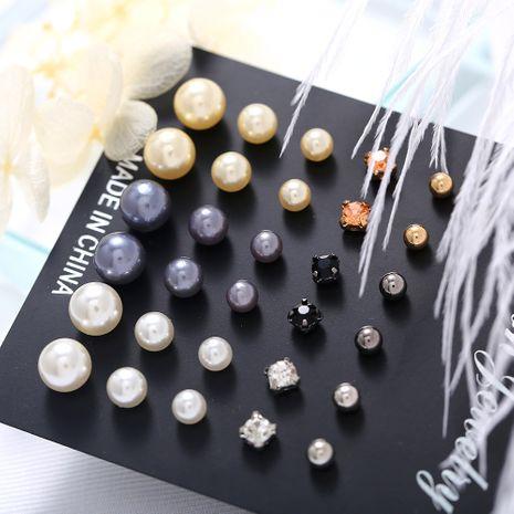 Alloy Fashion Geometric earring  (GCL03-02 earring set)  Fashion Jewelry NHPJ0410-GCL03-02-earring-set's discount tags