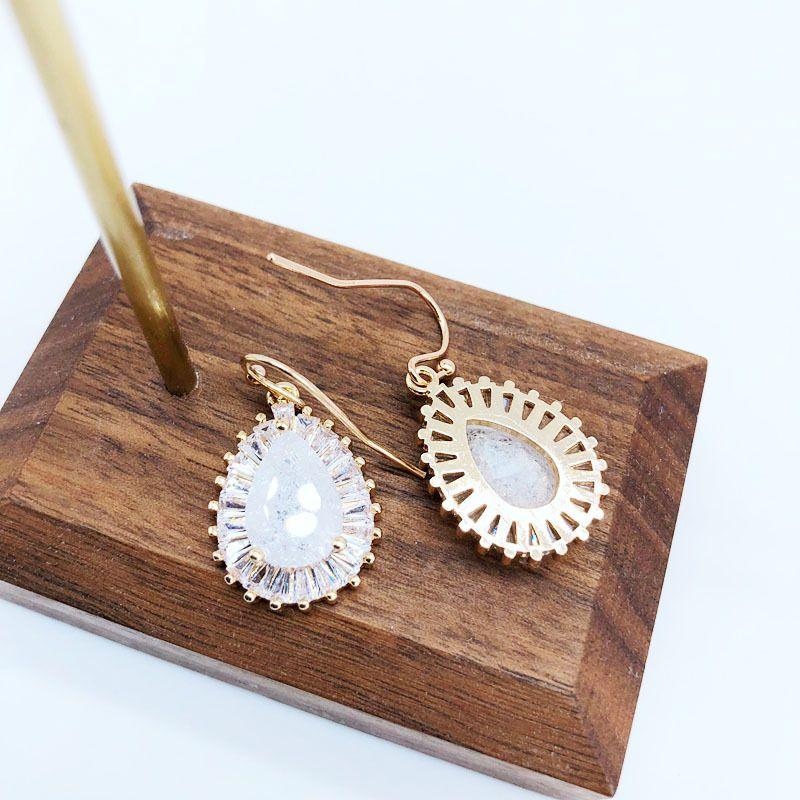 Copper Fashion  earring  (Photo Color)  Fine Jewelry NHOM1592-Photo-Color