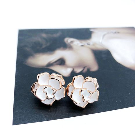 Alloy Fashion Flowers earring  (Photo Color)  Fashion Jewelry NHOM1591-Photo-Color's discount tags