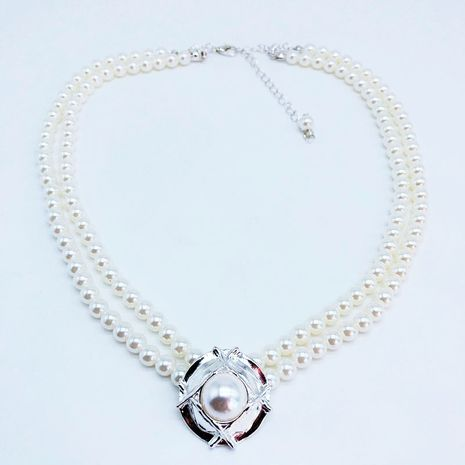Alloy Korea  necklace  (Photo Color)  Fashion Jewelry NHOM1615-Photo-Color's discount tags