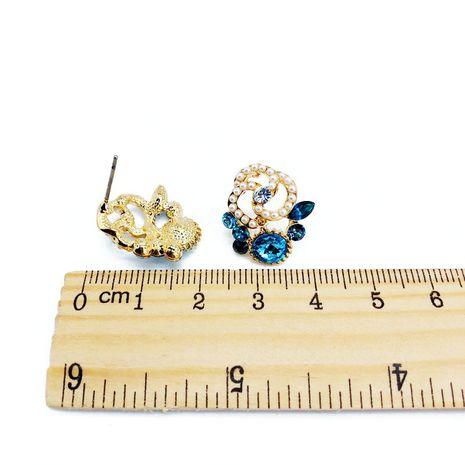 Alloy Korea  earring  (blue)  Fashion Jewelry NHOM1625-blue's discount tags