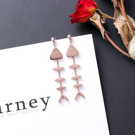 Titanium&Stainless Steel Korea Geometric earring  (Main picture)  Fine Jewelry NHMS2397-Main-picture's discount tags