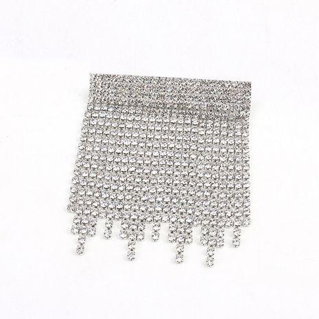 Imitated crystal&CZ Fashion Tassel brooch  (Alloy)  Fashion Jewelry NHNT0760-Alloy's discount tags