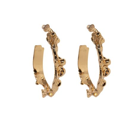 Alloy Simple Sweetheart earring  (Alloy)  Fashion Jewelry NHNT0756-Alloy's discount tags