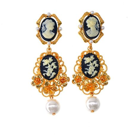 Alloy Fashion Flowers earring  (Alloy)  Fashion Jewelry NHNT0757-Alloy's discount tags