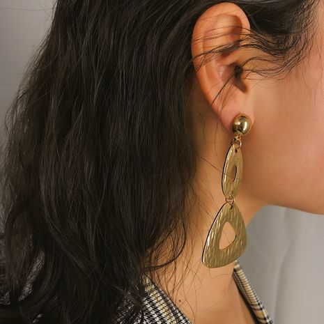 Alloy Simple Geometric earring  (Alloy 1357)  Fashion Jewelry NHXR2790-Alloy-1357's discount tags