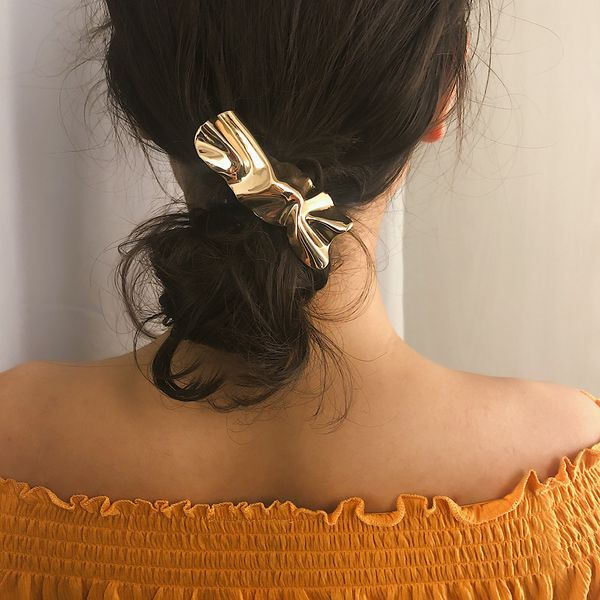Alloy Simple Geometric Hair accessories  (Alloy 0365-metal iron)  Fashion Jewelry NHXR2796-Alloy-0365-metal-iron