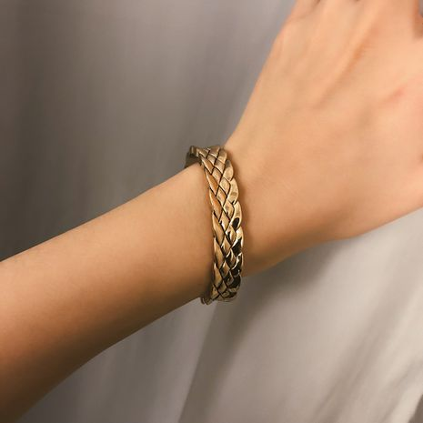Alloy Simple bolso cesta bracelet  (Ancient alloy 0386)  Fashion Jewelry NHXR2800-Ancient-alloy-0386's discount tags