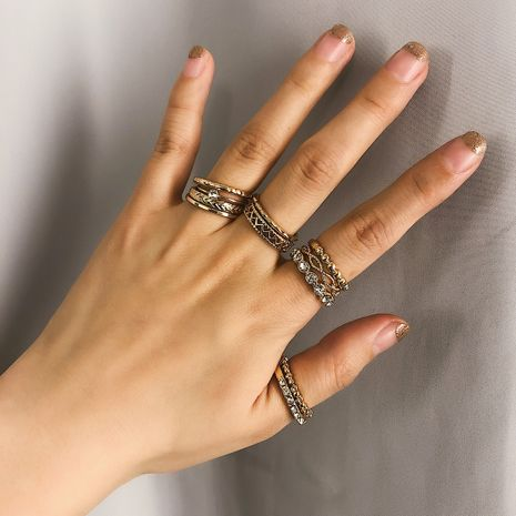 Alloy Simple Geometric Ring  (Alloy 0175-one size)  Fashion Jewelry NHXR2805-Alloy-0175-one-size's discount tags