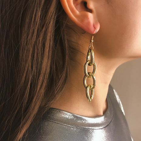 Alloy Simple Geometric earring  (Simple alloy)  Fashion Jewelry NHXR2806-Simple-alloy's discount tags