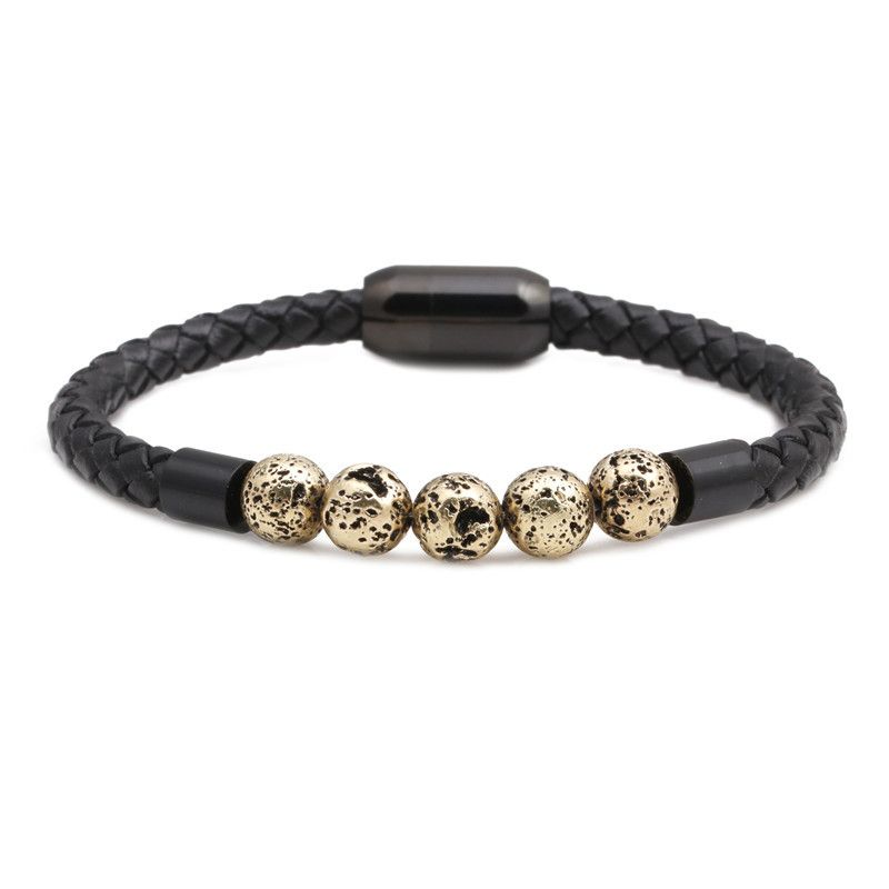 Titanium&Stainless Steel Fashion Geometric bracelet  (Alloy)  Fine Jewelry NHYL0666-Alloy
