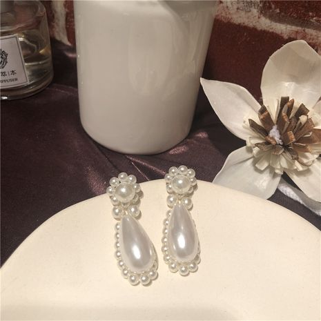 Beads Fashion Geometric earring  (Short 925 alloy needle)  Fashion Jewelry NHYQ0572-Short-925-alloy-needle's discount tags