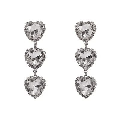 Imitated crystal&CZ Fashion Geometric earring  (Slabs)  Fashion Jewelry NHYQ0574-Slabs's discount tags
